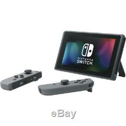 NEW Nintendo Switch with Gray JoyCon Handheld Gaming Console