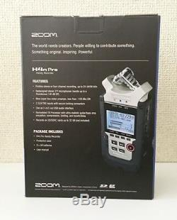 NEW ZOOM H4nPro Handy Portable Recorder Digital Audio Linear PCM H4n from JAPAN