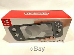 NINTENDO SWITCH LITE Gray Handheld Video Game Console Grey NEW SHIPS FAST
