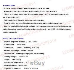 New Handheld 980nm Infrared IV Vein Finder Locator Transilluminator Vein Viewer
