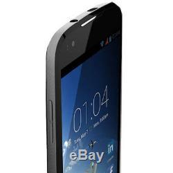 New Kazam Thunder Q4.5 Uk Sim Free Unlocked Smartphone Dual Sim Black Dark Blue
