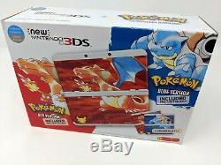 New Nintendo 3DS Pokemon 20th Anniversary Handheld System Brand New