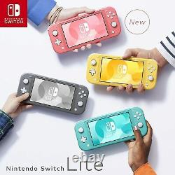 New Nintendo Switch Lite Coral Handheld Gaming Console UK Seller