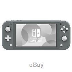 New Nintendo Switch Lite Handheld Gaming Console UK Seller Grey