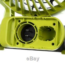 New Ryobi P3320 18V HYBRID PORTABLE FAN With4.0Ah BATTERY & BATTERY CHARGER