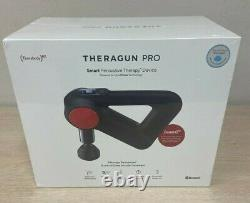 New Sealed Theragun PRO G4 Red Percussion Massage Gun Portable Handheld Wand