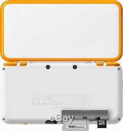 Nintendo 2DS XL Handheld Console + Stylus + Charger + 6AR Cards & MORE Orange