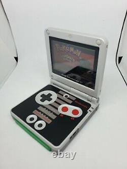 Nintendo Classic NES Limited Edition Game Boy Advance AGS-101 Handheld System