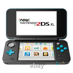 Nintendo New 2DS XL Black & Turquoise Handheld Console