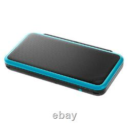 Nintendo New 2DS XL Black + Turquoise Handheld Game Console Very Good Condition