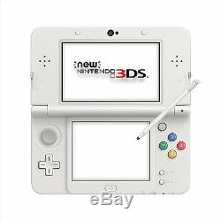 Nintendo New 3DS White Handheld System