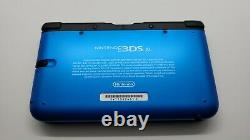 Nintendo New 3DS XL 4GB Black/Blue Handheld System