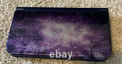 Nintendo New 3DS XL Galaxy Style Handheld Console With Case And Charger