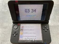 Nintendo New 3DS XL with 468 Games Metallic Black Handheld Region Free