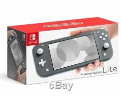 Nintendo Switch Lite Handheld Console 32GB Gray Brand New In Stock Now