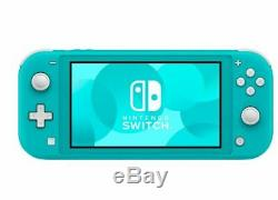 Nintendo Switch Lite Handheld Console 32GB Turquoise New In Stock Now