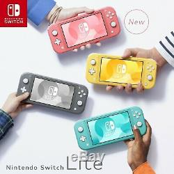 Nintendo Switch Lite Handheld Console Coral