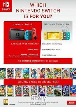 Nintendo Switch Lite Handheld Console Grey