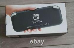 Nintendo Switch Lite Handheld Console Grey 32GB Brand New