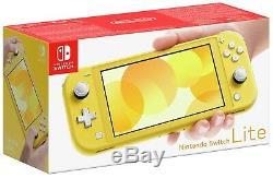 Nintendo Switch Lite Handheld Console Yellow