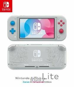 Nintendo Switch Lite Handheld Console Zacian & Zamezenta