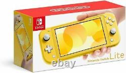 Nintendo Switch Lite Yellow Handheld Video Game Console Yellow in stock NEW