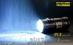Nitecore TM06S Flashlight XM-L2 U3 LED -4000 Lumens with4x NL183 Batteries
