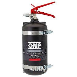 OMP Hand Held Fire Extinguisher 2.4 Litre AFFF Race Rally Track Garage Pit Lane
