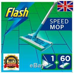 OUT OF STOCK Speedmop Starter Kit Speed Cleaning mop with 60 Lemon Wet Wipes