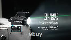 Olight Baldr Mini Black 600 Lumen Pistol Flashlight with Green Laser Sight