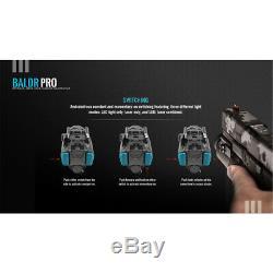 Olight Baldr Pro 1350 Lumen Pistol Flashlight with Green Laser Sight (Tan)