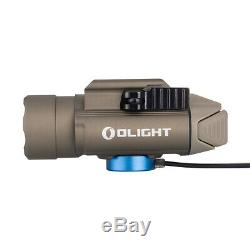 Olight PL-Pro Valkyrie 1500Lm Rechargeable Weapon Light, Desert Tan (FDE) Color