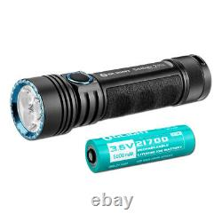 Olight Seeker 2 Pro 3200 Lumen Rechargeable LED Flashlight with Battery & Charger