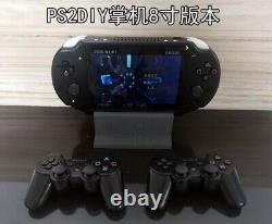 PS2P Playstation 2 Portable Handheld Game console 8 IPS Backlit Ps2 Ps1 psx DIY