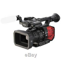 Panasonic AG-DVX200 4K Handheld Camcorder with 4/3 Sensor and Integrated Zoom Lens