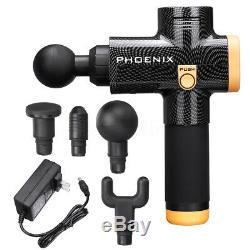 Phoenix Percussion Massager Gun Massage Deep Muscle Vibration Therapy Device