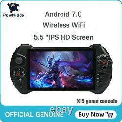 Powkiddy X15 Android Video Handheld Game Console Wifi 5.5' HD 16 Simulators