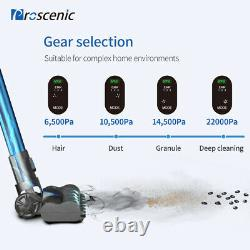 Proscenic P10 Cordless Vacuum Cleaner 22KPa Super Suction Pet Hair Eraser 4 in 1