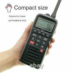 RS-38M Handheld VHF Marine 2-Way Radio Waterproof and Floats WITH GPS & DCS