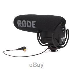 Rode VideoMic Pro DSLR Camera Shotgun Microphone with Rycote Lyre