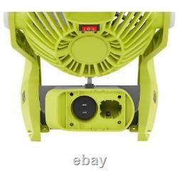 Ryobi P3320 18V ONE + HYBRID PORTABLE FAN + P197 4.0Ah BATTERY + P118B Charger