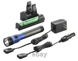 STREAMLIGHT Blue DS Stinger LED HL AC/DCwith Piggyback Charger 800 Lum SG75486