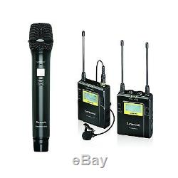 Saramonic UwMic10 RX10 TX10 HU10 96-Ch UHF Wireless Handheld Microphone System