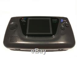 Sega Game Gear Handheld System Console New Capacitors REAL Glass Screen Lens