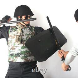 Self-defence Arm Type Anti-Riot Shield Aluminum Alloy Metal Handheld Shields