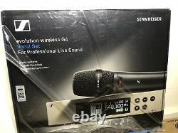 Sennheiser EW Series 100 G4 WirelessMicrophone System E835 UPC 615104308732