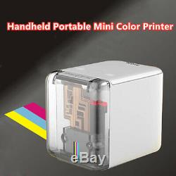 Small Portable Handheld Color Inkjet Printer For iOS Android