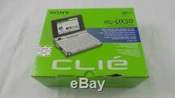 Sony CLIE Handheld Palm OS Camera IrDA Bluetooth Wi-Fi (PEG-UX50/E)