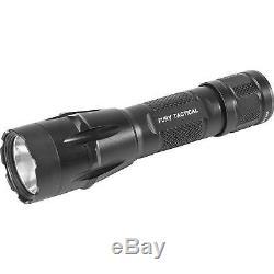 SureFire Fury DFT Single Output LED Tactical Flashlight, Black, FURY-DFT