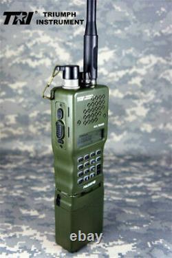 TRI AN/PRC-152 Aluminum Shell 10W Handheld Radio VHF/UHF Walkie Talkie Metal